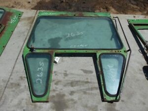John Deere 5020 Tractor Center Cab Frame W Top 2 Bottom Windows Tag 2635