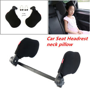 Car Seat Headrest Pad Foam Pillow Head Neck Rest Lean On Support Cushion Relax