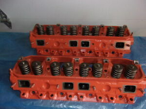 Mopar 906 440 Magnum Heads Rebuilt 1969 Dodge Plymouth Chrysler 383 Big Block