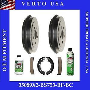 Brake Drums And Shoes For Toyota Prius 2004 2005 2006 2007 2008