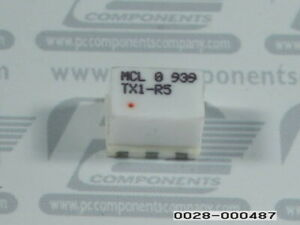 20 pcs Rf Transformer 1 1 0 8mhz To 500mhz Surface Mount Tx1 r5 1r5 Tx1r5