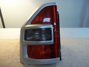 2001 2002 Mitsubishi Montero Left Driver Side Tail Lamp Light Silver Trim