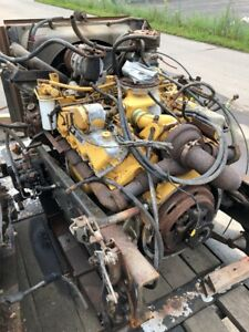 1985 Caterpillar 3208t Diesel Engine Turbo 250hp 30k Rebuilt
