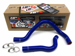 Hps Silicone Radiator Hose Kit For Honda 92 00 Civic Dohc B16 Blue 96 97 98 99