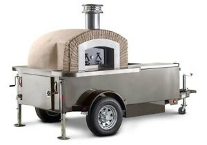 Wood Fired Pizza Concession Trailer Wood Fired Pizza Oven Trailer