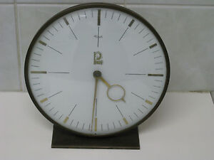 Rare Vintage Old German Pfaff Sewing Machine Clock