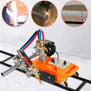Semi automatic Gas Cutter Cg1 30 Torch Track Burner Gas Cutting Machine 110v Ups