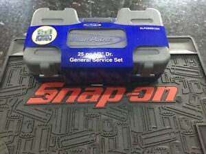 Snap On Blue Point 25pc 1 2 Dr General Service Set