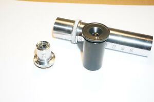 Lomo Objective For Microscope 3 7x 0 11 Macro With Tube And Eyepiece