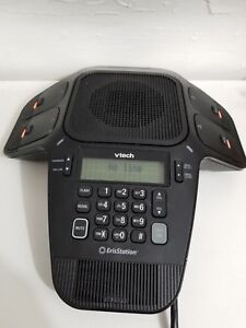 Vtech Vcs704 Erisstation Dect 6 0 Conference Phone With 4 Wireless Mics