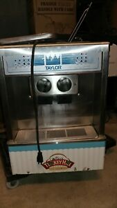 2015 Taylor 161 Soft Serve Ice Cream Countertop 2 Flavors With Twist 1 Ph Air