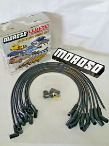 Moroso Sbf Ford 302 351 351w 351c 8mm Hei Style Spark Plug Wires 135 Deg Boot