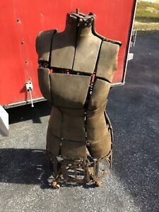 Vintage Model Form Company Female Size 2 Model 629 Collapsible Dress Form