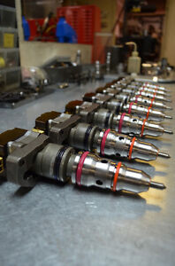 Ford Diesel 7 3l Powerstroke Injectors Reman Ad ab aa Read Entire Listing