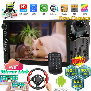 For Ford Escape Expedition Fiesta Mustang Ranger Android 2din Wifi Car Stereo Fm