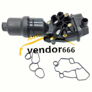 06f115397h Engine Oil Filter Adapter Housing Assembly For Audi A3 A4 Tt Vw Golf