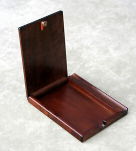 Wooden Notepad Box With Pen Holder Made In Japan Toyooka Craft Mc002016