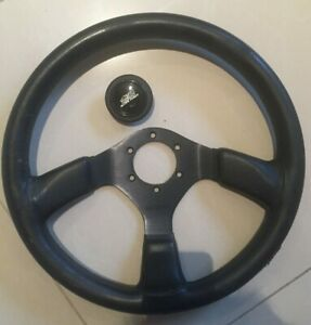 Genuine Mugen Sw4 Steering Wheel Mugen Horn Button Integra Civic Crx