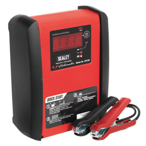 Sealey Schumacher Spi10s Intelligent Speed Charge Battery Charger 10a 12v 230ah