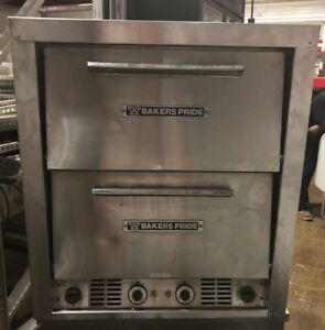 Bakers Pride P48s Hearthbake Electric Double Deck Pizza Oven Votls 115 208