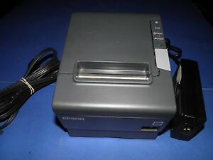 Micros Epson Tm t88v Thermal Pos Receipt Printer Idn Usb Interface M244a