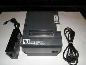 Squirrel Epson Tm t88ii M129b Thermal Pos Label Receipt Printer W Power Supply