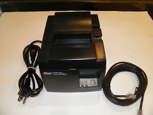 Star Tsp100 143lan Thermal Pos Receipt Printer W Ethernet Port And Power Cable