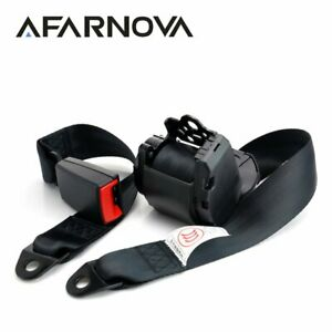 1pc Afarnova Top Quality 3 Point Safety Seat Belt Driver Passenger Replacement