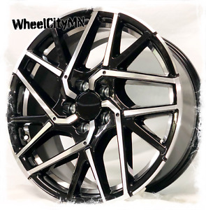 18 Inch Gloss Black Machine 2018 2017 Honda Civic Si Oe Replica Wheels 5x4 5 50