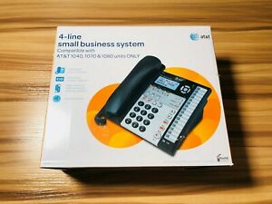 At t 1070 Small Business Phone System 4 line Compatible W 1040 1080 1070 new