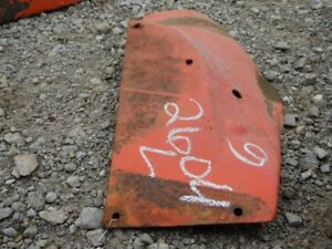 Allis chalmers G Tractor Left Fender Tag 2604