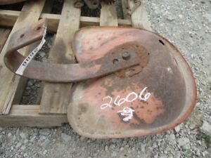 Allis chalmers G Tractor Seat Pan With Frame Tag 2606