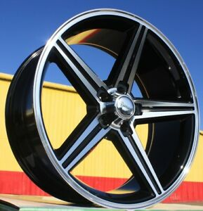 24 Inch Flexx 51 Iroc Bmf Wheels Tires Package Fits Rwd Chrysler 300c 5x115