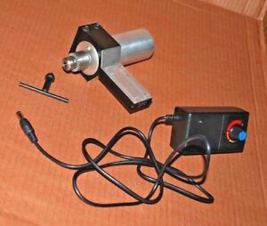 Tool Post Live Spindle Variable Speed Drill Mill Grind In Your Tool Post 2