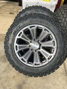 Asanti Off road Wheels 22 X 12 8x180 fuel Silverado 2500 Hd Denali Forgiato Xd