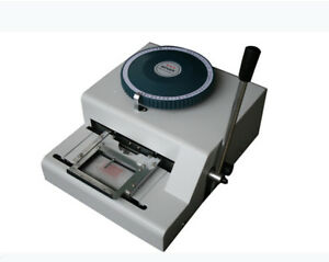 74d Russia Dog Tag Embossing Stamping Machine Id Card Metal Marking Machine