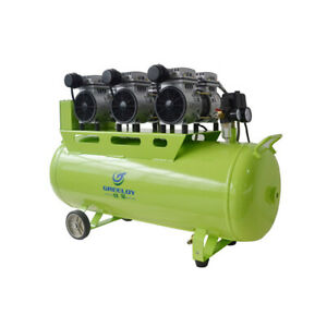 Greeloy Dental Noiseless Oil Free Oilless Air Compressor Ga 63 One Drive Five Lm