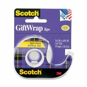 3m Giftwrap Transparent Tape 15 Mmm15 box Of 24
