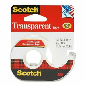 3m 174 1 2 X 1000 Scotch Transparent Tape