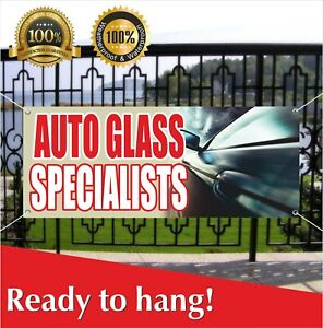 Auto Glass Specialists Banner Vinyl Mesh Banner Sign Windshield Business