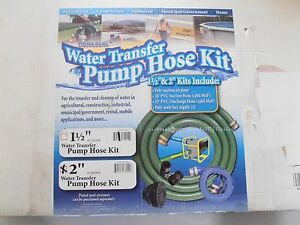 Apache Universal 2 Water Transfer Pump Hose Kit 98128615 With Strainer nipples