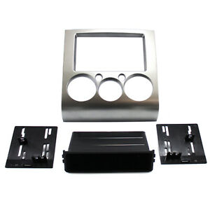 Radio Replacement Silver Dash Double Din Kit For 2004 2012 Mitsubishi Galant