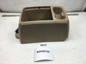 2014 Dodge Grand Caravan Minivan Front Floor Center Console W Cup Holder Oem