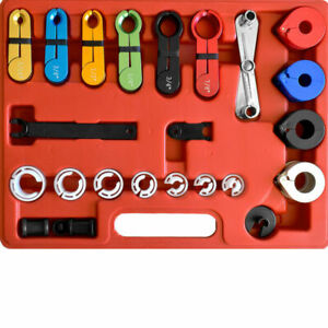 Transmission Air Con Air Conditioning Fuel Line Disconnect Removal Tool Set Kit