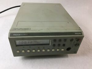 Philips Pm2525 Dmm Wide Range 10khz 20mhz 10nf 2000 Uf Bench Micro Processor