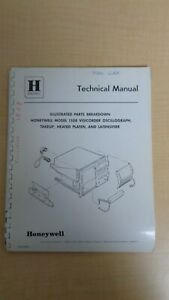 Honeywell 1508 Visicorder Oscillograph Illustrated Parts Breakdown Manual 6f B8