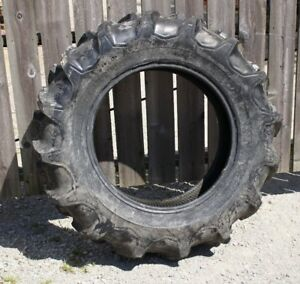 Firestone 12 4 X 24 Gum Dipped Field Road R1 Ag Tractor Tire Made In Usa Nos