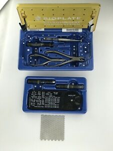 Bioplate Neurosurgery Fixation System All Instruments Most Implants
