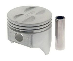 1968 1969 1970 1971 1972 1973 Chevy Gm 307 5 0l 8 Piston And Ring Set Std