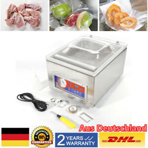 Commercial Digital Vacuum Packing Sealing Machine Sealer 120w Chamber Eu Plug